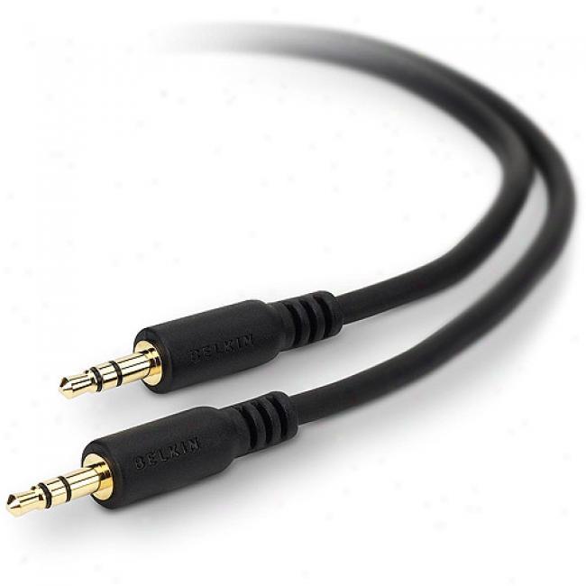 Mini-stereo Audio Cable, 6'