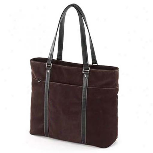 Mobile Edge Suede Women's Ultra Bag (chocolate)