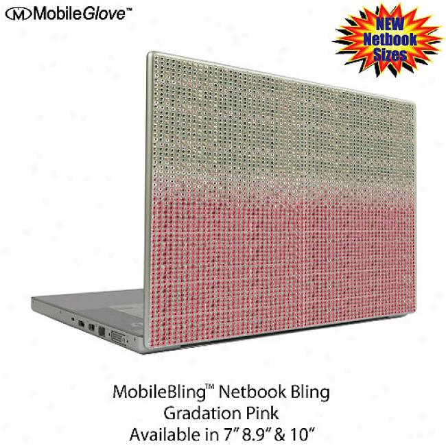 Mobilebling Netbook Cover Gradation Pink, 7