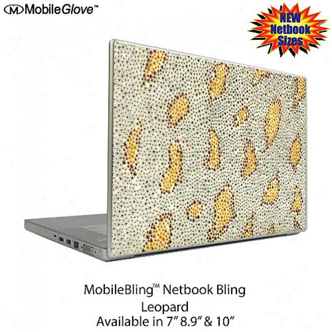 Mobilebling Netbook Cover Leopard, 7