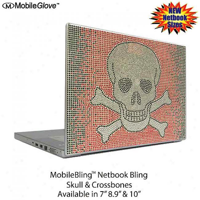 Mobilebling Netbook Cover Skull And Crossbones, 7