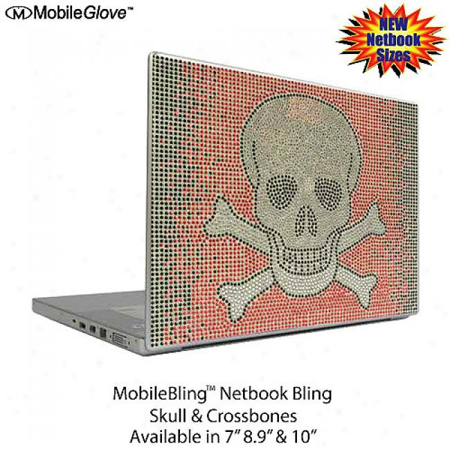Mobilebling Netbook Cover Skull And Crossbones, 10