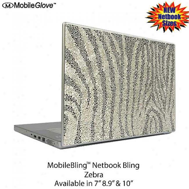 Mobilebling Netbook Cover Zebra, 7