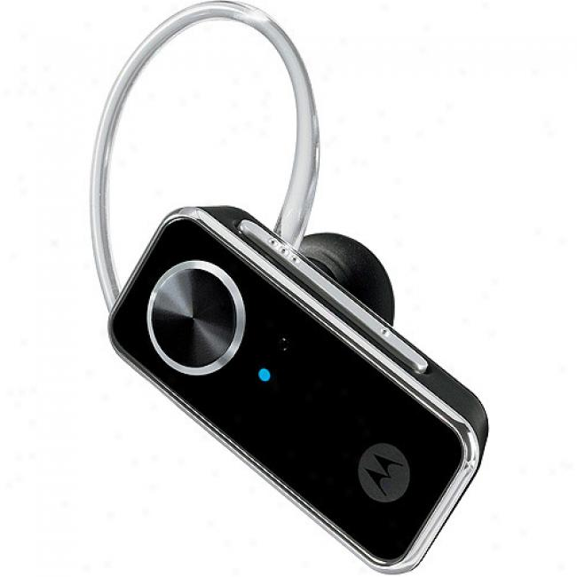 Motorola Bluetooth H690 Headset With Dual Microphone Technology