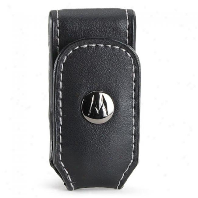 Motorola Bluetooth Leather Belt Clip
