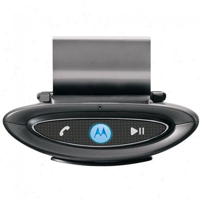 Motorola Bluetooth T505 In-car Speakerpone And Digital Fm Transmitter