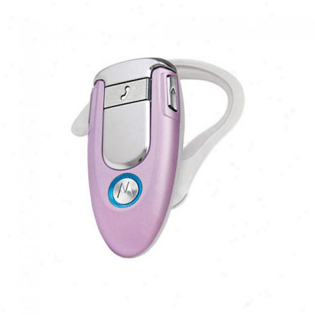 Motorola H500 Bluetooth Headset, Pink