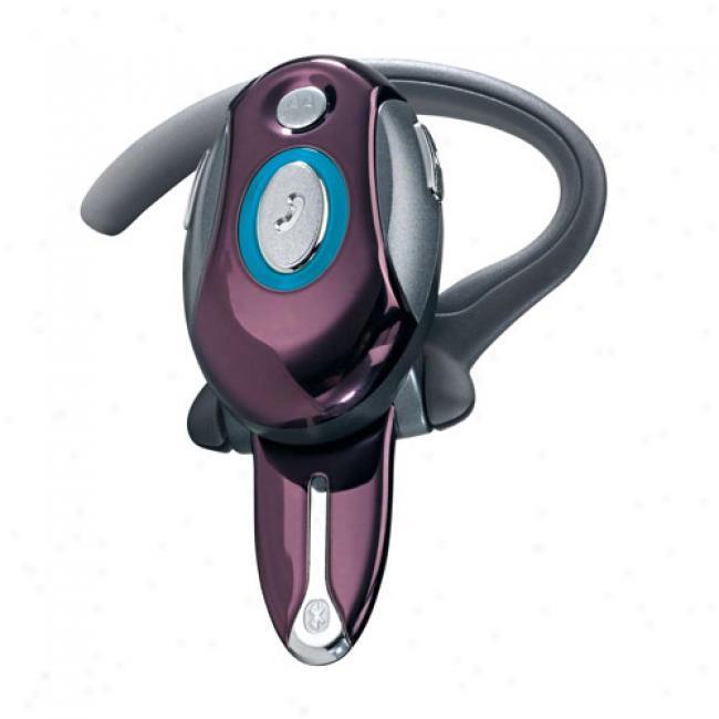 Motorola H700 Bluetooth Plum Headset