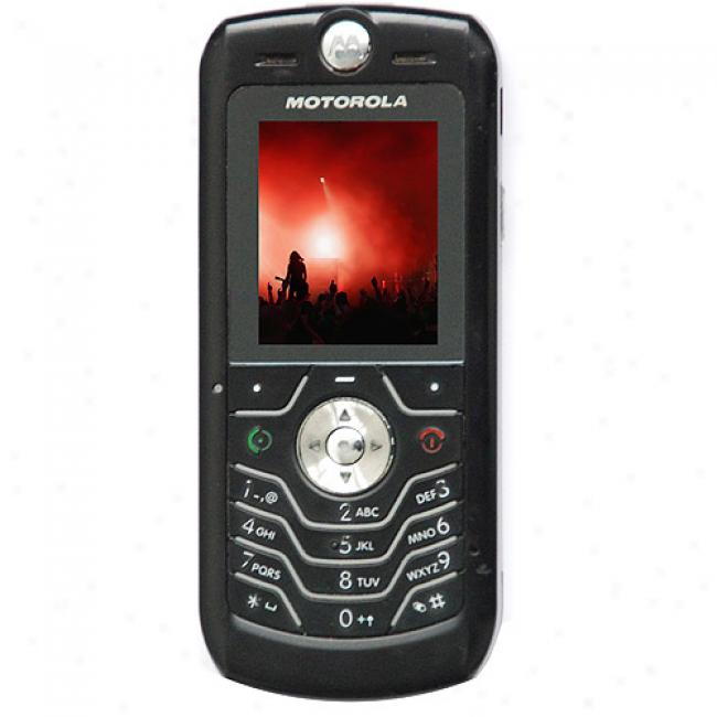 Motorola L6 Black Unlocked Gsm Cell Phone