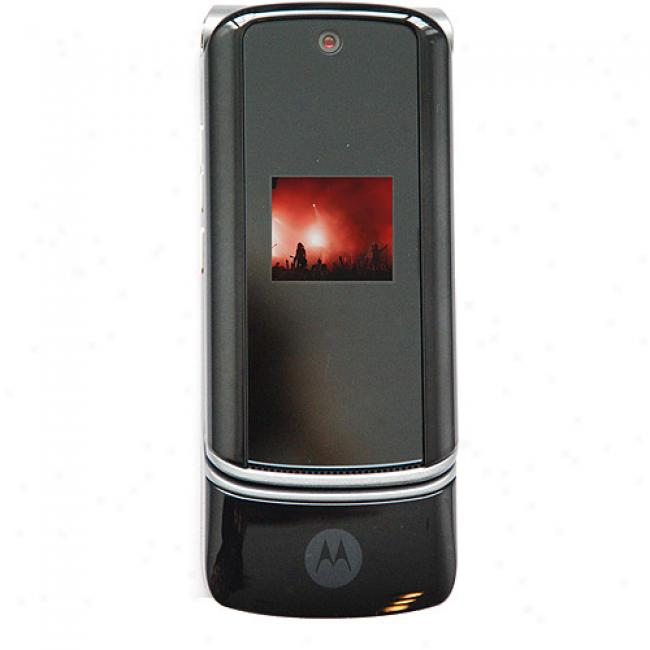 Motorola Motokrzr K1 Unlocked Gsm Cell Phone, Black