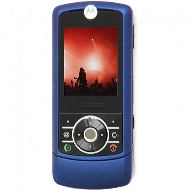 Motorola Mototizr Z3 Unlocked Gsm Cell Phone, Blue