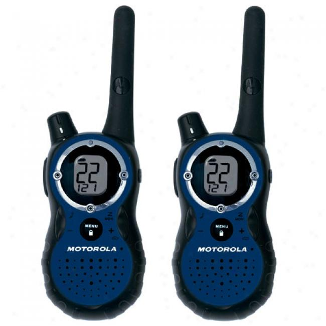 Motorola T8530r Two-way Radios, Pair