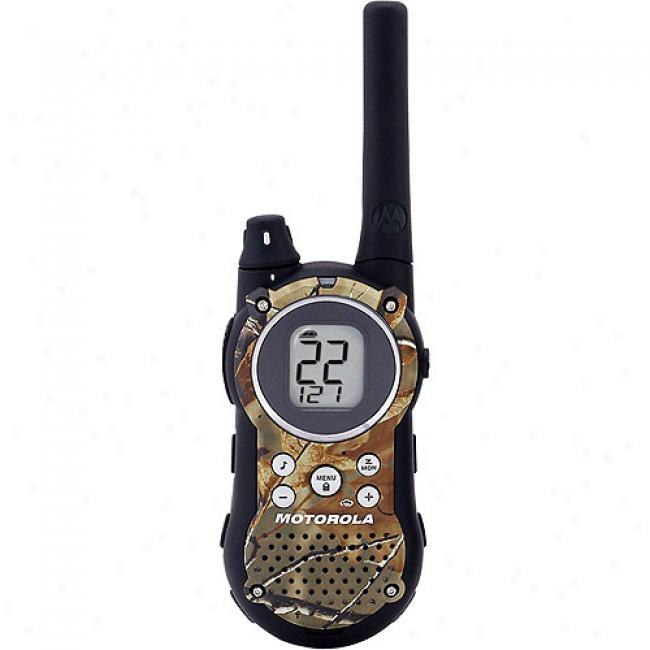 Moto5ola Talkabout Gmrs/frs 2-way Radios With 28-mils Range