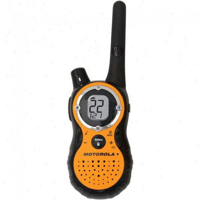 Motorola Talkabout T-8500r Two Way Radio In the opinion of 18-mile Range