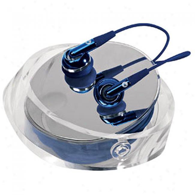 Motorola Thrill Me Blue Eh25 Stereo Headset
