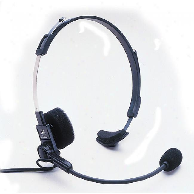 Motorola Spoken sound Activated Headset For Talkabout Radios