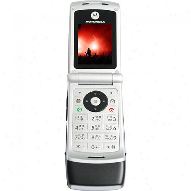 Motorola W375 Unlocked Gsm Cell Phone, Black