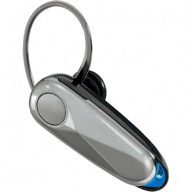 Motorolah560 Universal Bluetooth Headset, Silver
