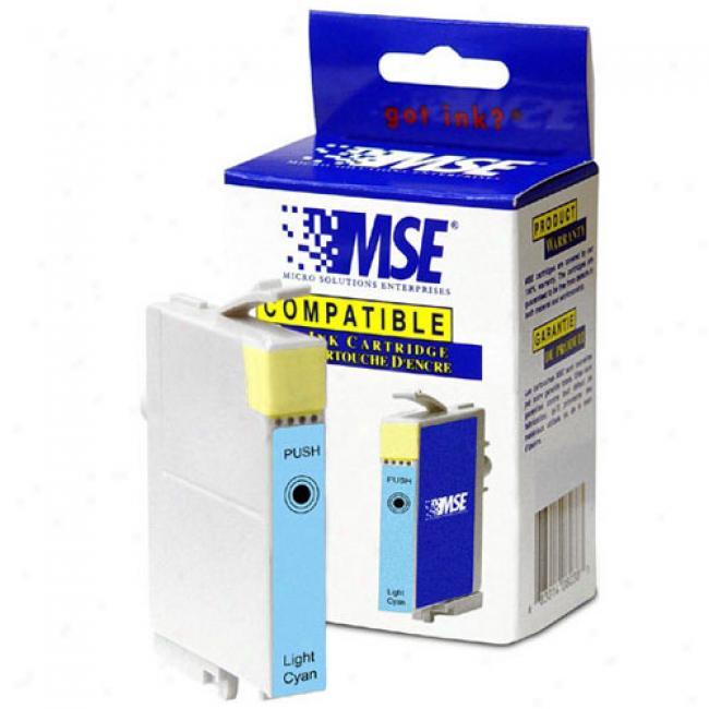 Mse Compatible Epson T048520 Stylus Light Cyan Print Cartridge