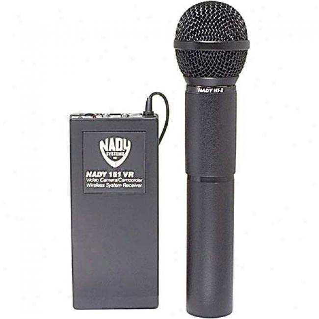 Nady Professional Wireless Hand-held Microphone System Fo eCamcorders