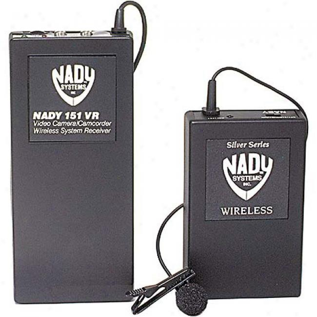 Nady Professional Wireless Microphone System For Camcorders - Lavaliere