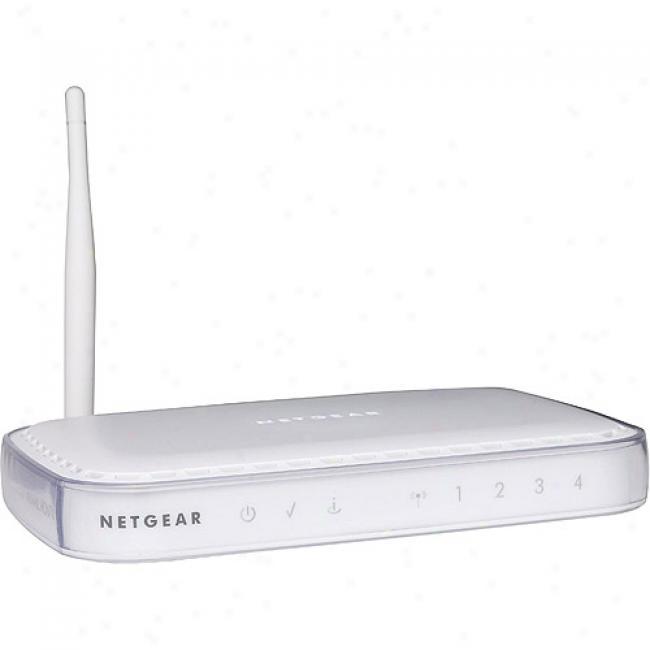 Netgear 54 Mbps Wireless Adsl Firewall Router