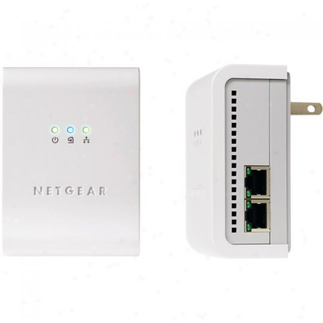 Netgear 85mbps Powerline Ethernet Switch Kit