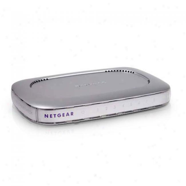 Netgear Fs-608 8-port 10/100mbps Switch