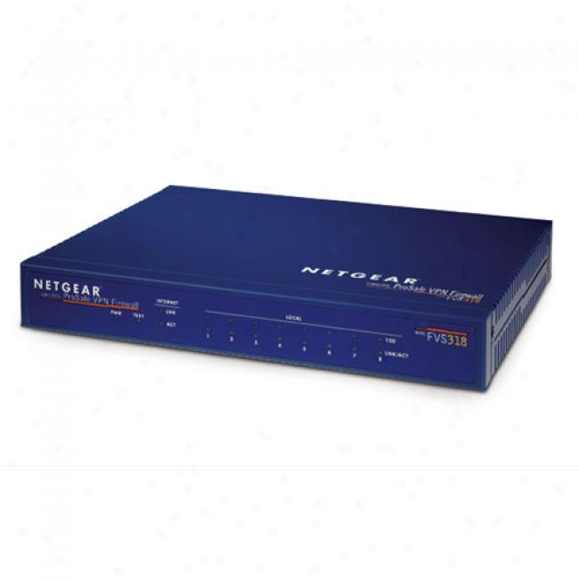 Netgear Fvs318 10/100mbps 8 Port Vpn Router