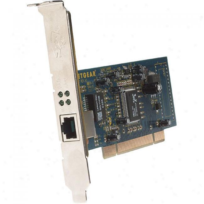 Netgear Ga311 10/100/1000mbps Gigabit Pci Desktop Adapter