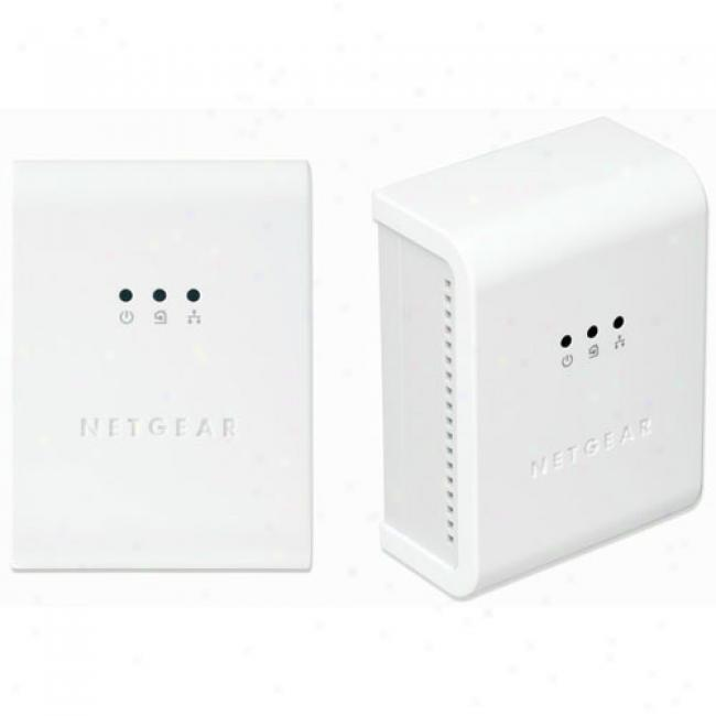 Netgear Powerline Hd Network Kit, Hdxb101