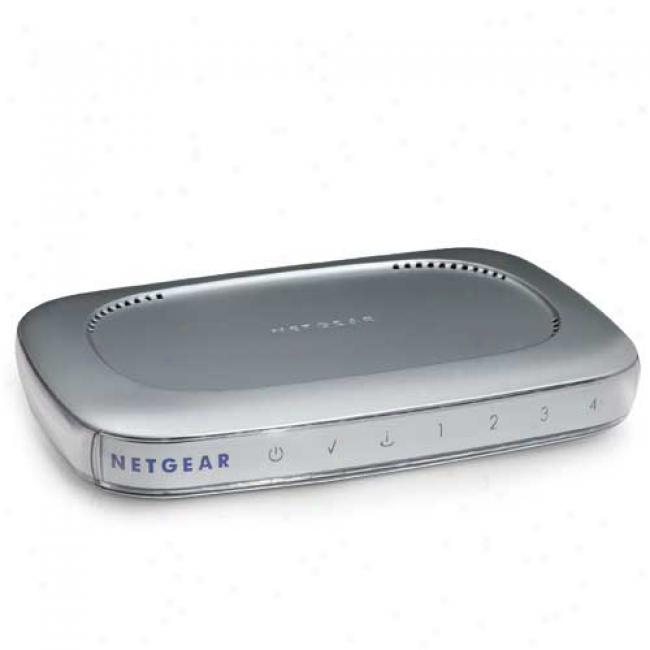 Netgear Rp614 Websafe Wired 10/100mbps Router