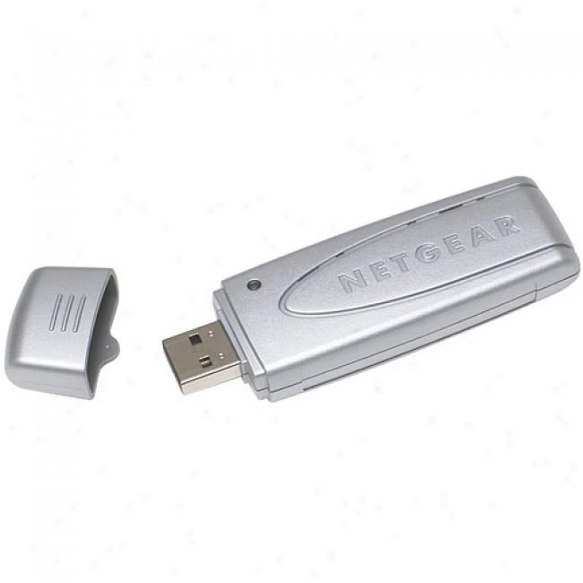 Netgear Wg111t Wireless-g 108mbps Usb 2.0 Adapter
