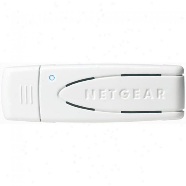Netgear Wn111 Rangemax Next Wireless-nusb Adapter
