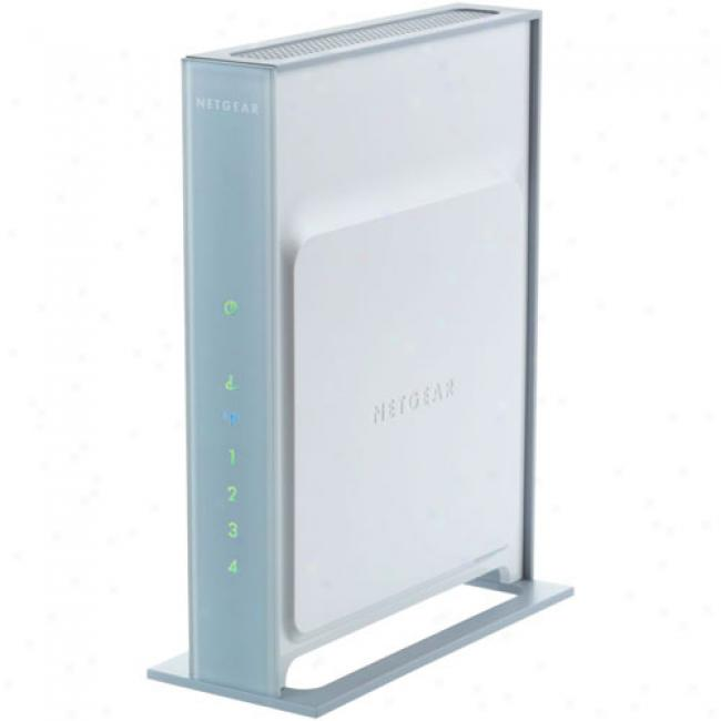 Netgear Wnr854t Rangemax Next Wireless-n Gigabit Broadband Router