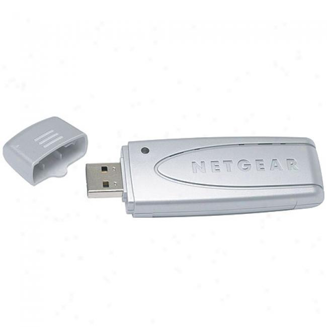 Netgear Wpn-111 Rangemax Wireless-g Mimo Usb 2.0 Adapter