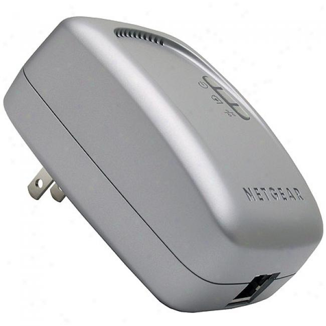 Netgear Xe-102us Wall-plugged Ethernet Bridge (single)