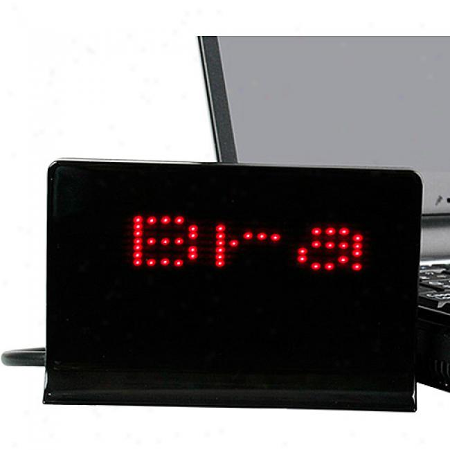 Newo Dream Cheeky Usb Led Message Board With Customizable Scrolling, 818