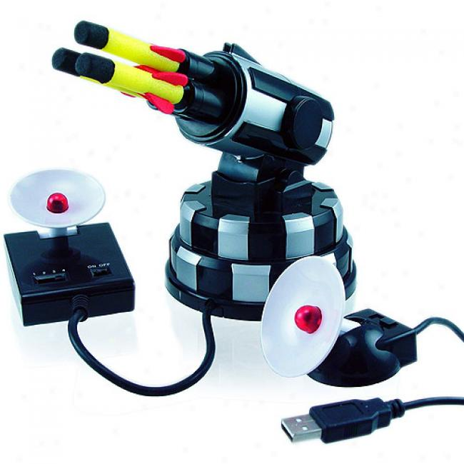 Newo rDeam Cheeky Usb Wireless Missile Launcher Silver, 055