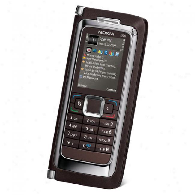 Nokia E90 All-in-one Business Phone, Unlocked