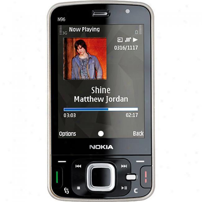 Nokia N96 Multimedia 8gb Smartphone (unlocked Gsm)