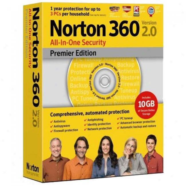 Norton 360 Premier Edition, V2.0 (pc)