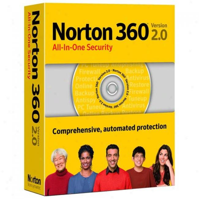 Norton 360 V2.0, 5 Users (pc)