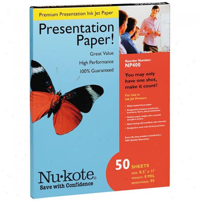 Nu-kote Premium Presentation Paper (8.5