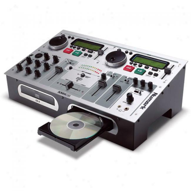 Numarkk Dual-cd Player Dj Station With Karaoke Support