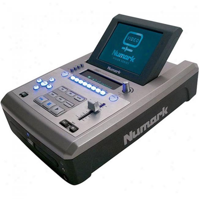 Numark Tabletop Dvd/cd/mp3 Player With Screen