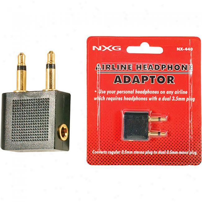 Nxg Airline Headphone Adapter