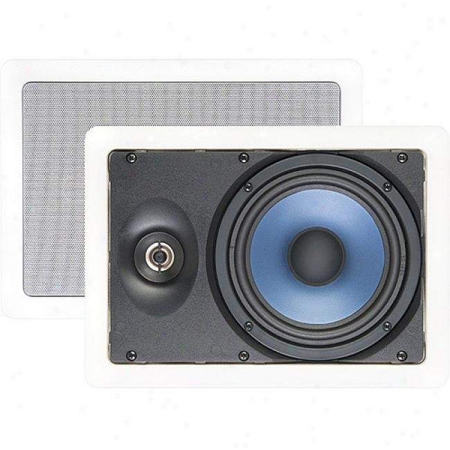 Nxg Basix Series 2-way In-wall Speaker System - 80-watt, 6.5 Inch