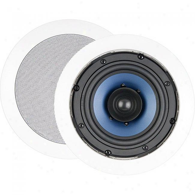Nxg Basix Series Dual-cone In-ceiling Speaker System - 50-watf, 5.25-inch