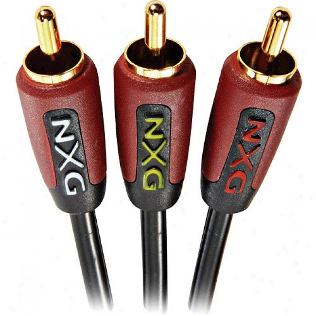 Nxg Basix Series Stereo Audio/video Cable - 6 Meter
